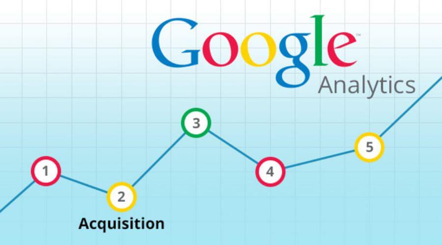 گزارش Acquisition در گوگل آنالیتیکس